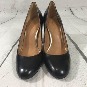 Coach Black Ophelia Heels Size 8.5